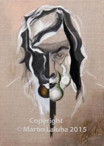 Mužský z chlapských olej na plátne
